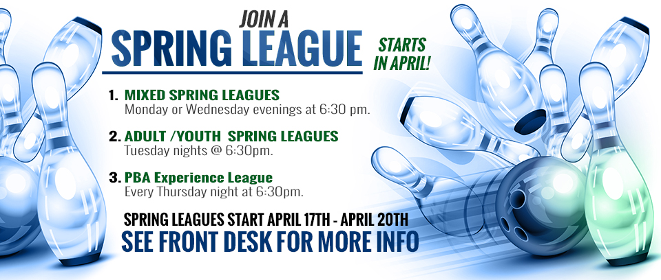 Spring Leagues Robbinsdale Lanes Bowling