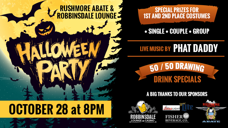 Halloween Party Robbinsdale Lounge